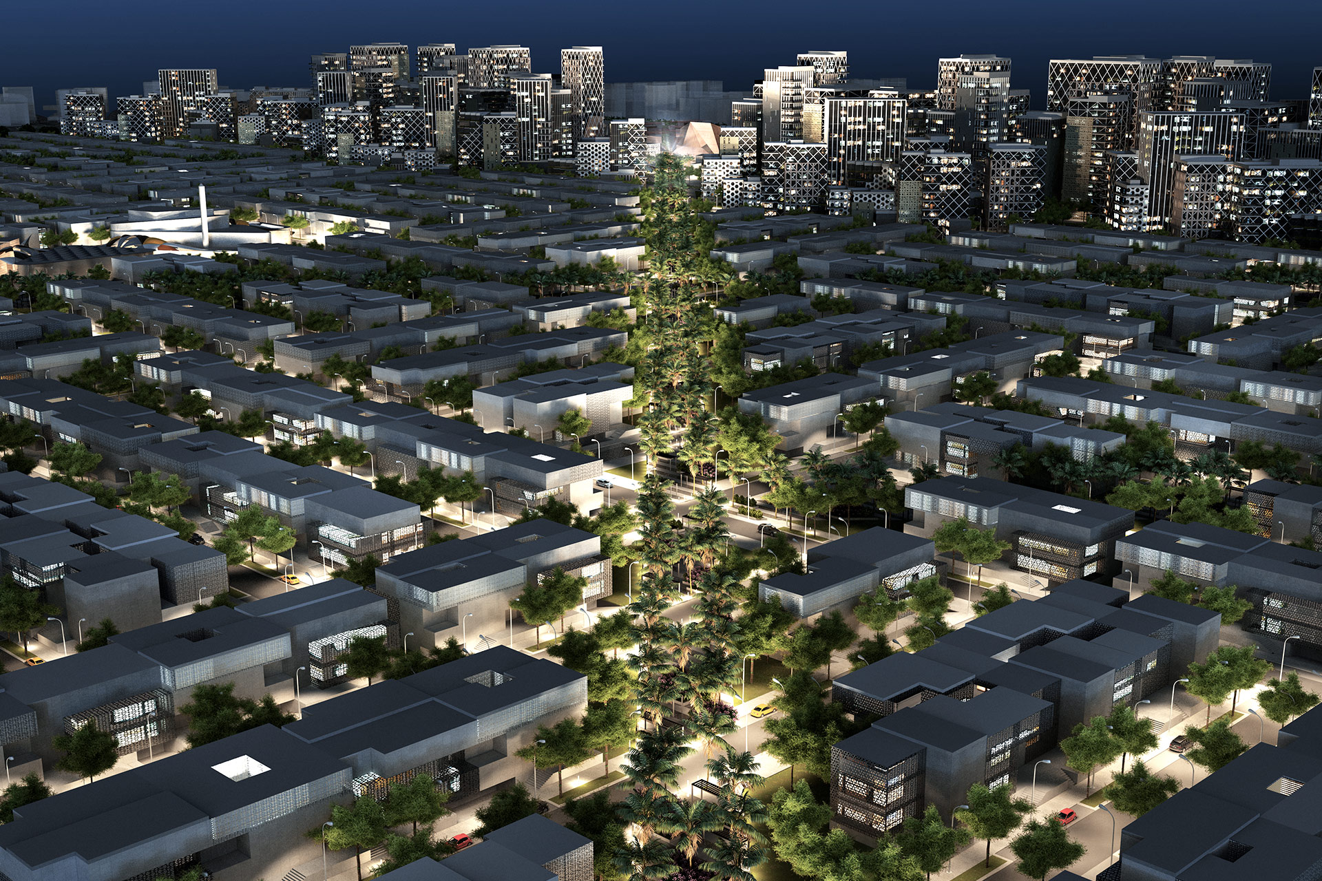 Having extensive experience creating master plans for urban areas across the world, we are passionate about generating socially progressive, culturally diverse and sustainable environments.